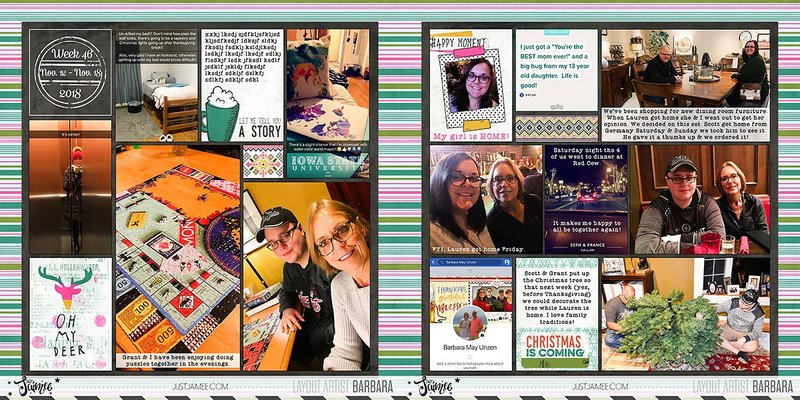 2018 Project Life | Week 46