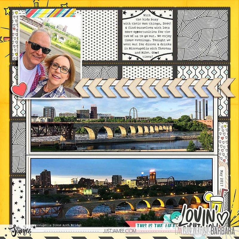 Minneapolis Stone Arch Bridge