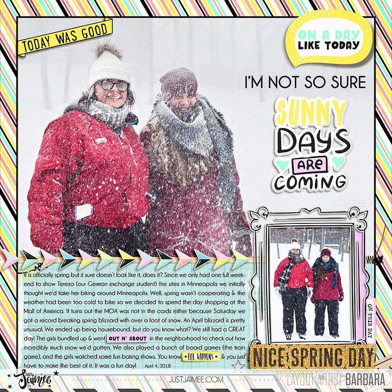 Record Breaking Spring Blizzard