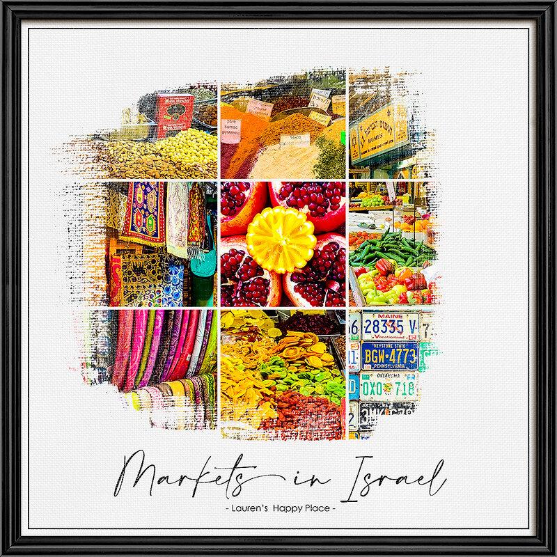 Markets in Israel - Lauren's Happy Place