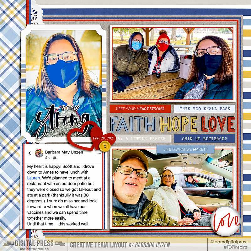 Faith Hope Love: Visiting Lauren