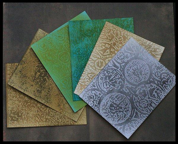 SOF'12 Wax paper resist