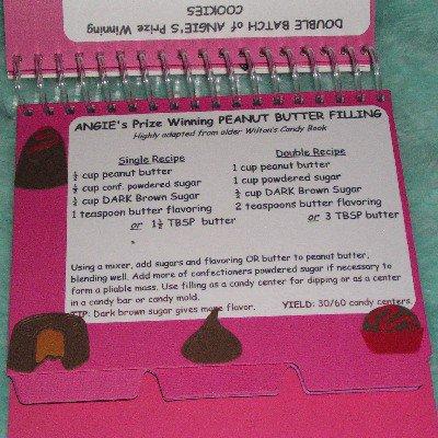 Unfinished Recipe Card Cookbook