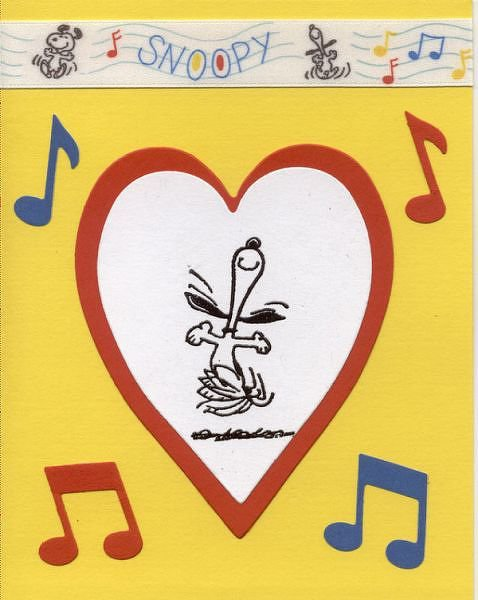 Stamptoberfest Snoopy 3 & Language of Love