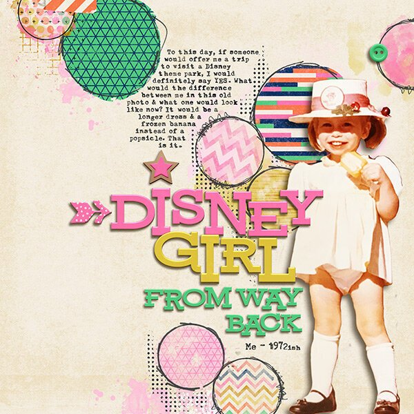 Disney Girl From Way Back