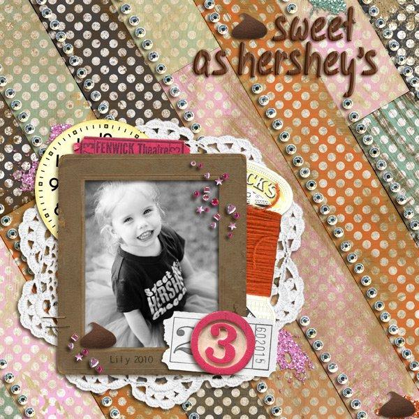 Sweet as Hershey's