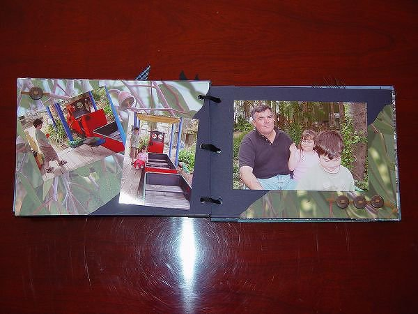 Batemans Bay -- Mini Holiday Album { handmade }