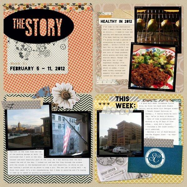 Project Life Week 6 - Digi