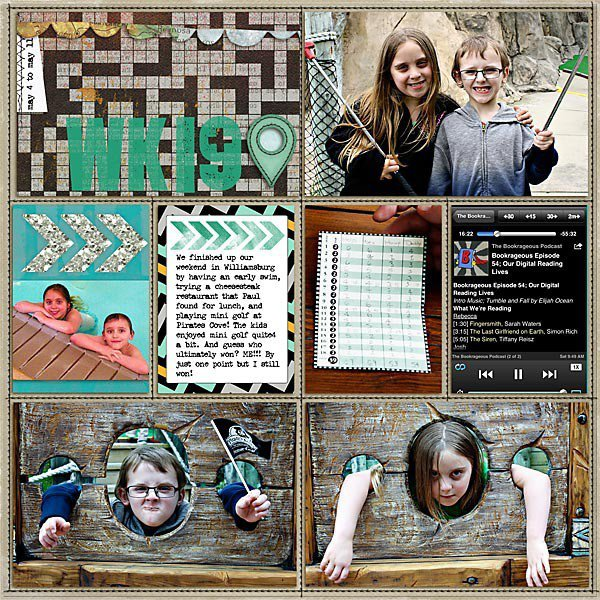 Project Life: Week 19, Page 1