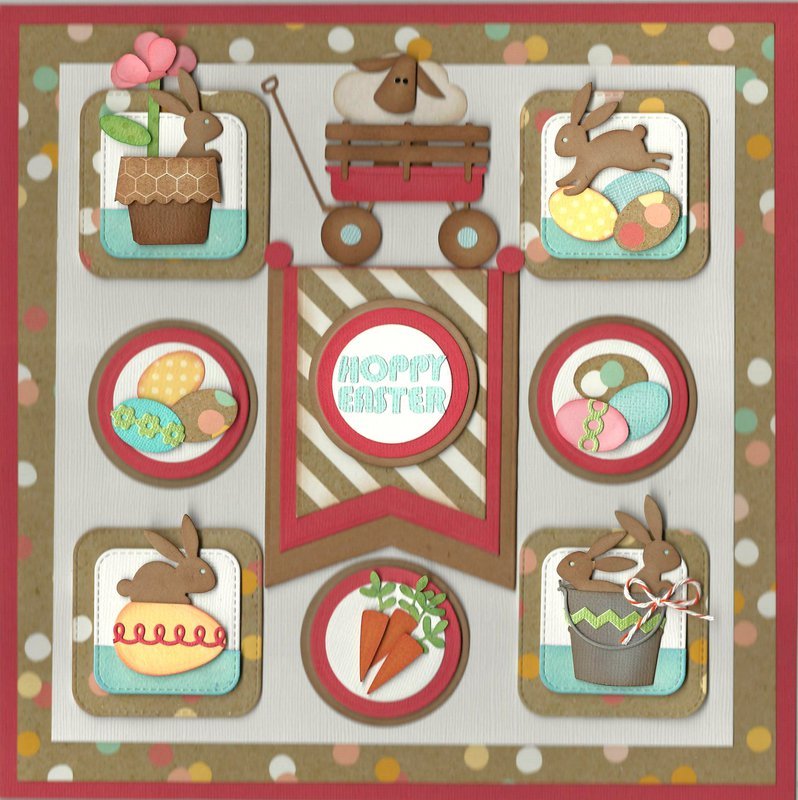 """HOPPY"" Easter 12x12 Sampler"