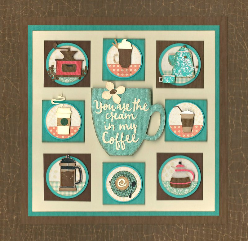 May 2016 Sampler Theme: Coffee