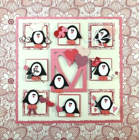 2019 January Valentine Penguin Sampler