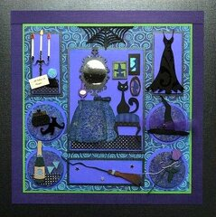The Witch's Night Out Paper Sampler