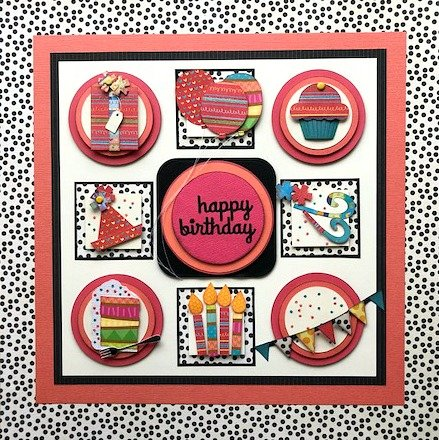 Happy Birthday Collage Sampler