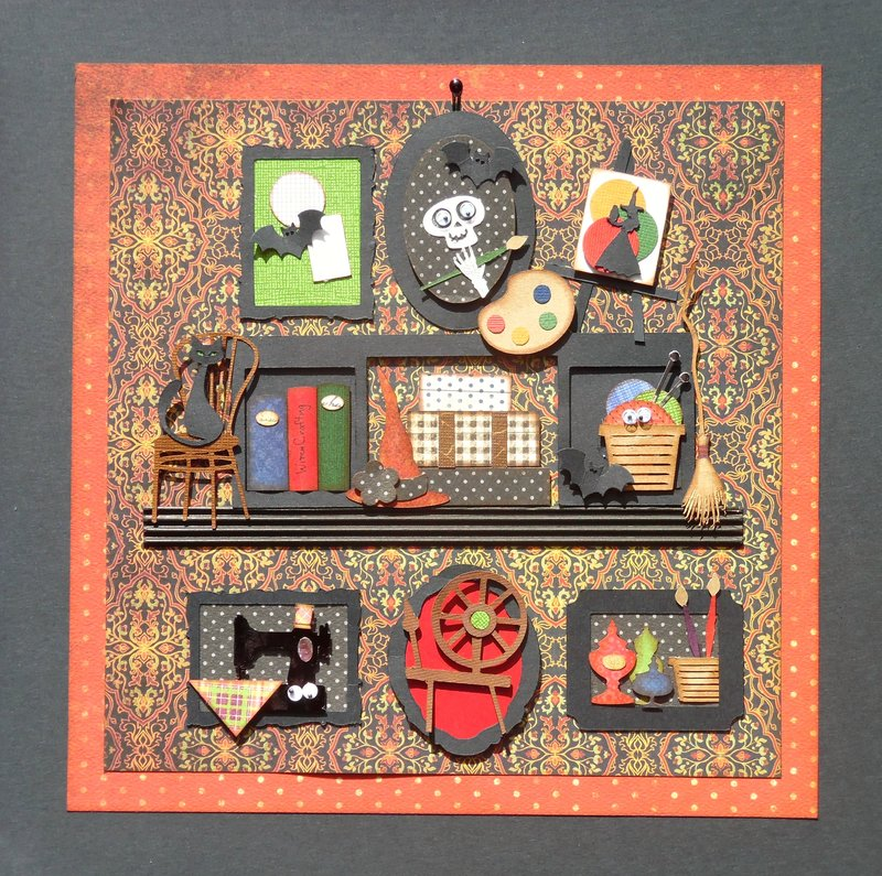 Halloween Sampler -The Witch's Craftroom