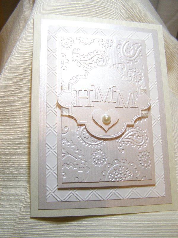 Hayley and Matt's Wedding Card