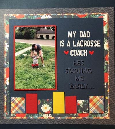 My Dad Is A Lacrosse Coach...