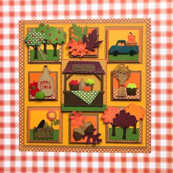 "October Sampler - ""The Farm Stand"""