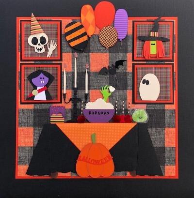 September Sampler...The Witch's Halloween Party