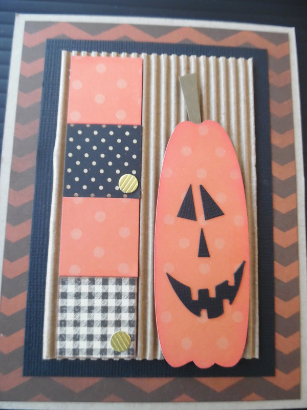 Inchie Pumpkin Card