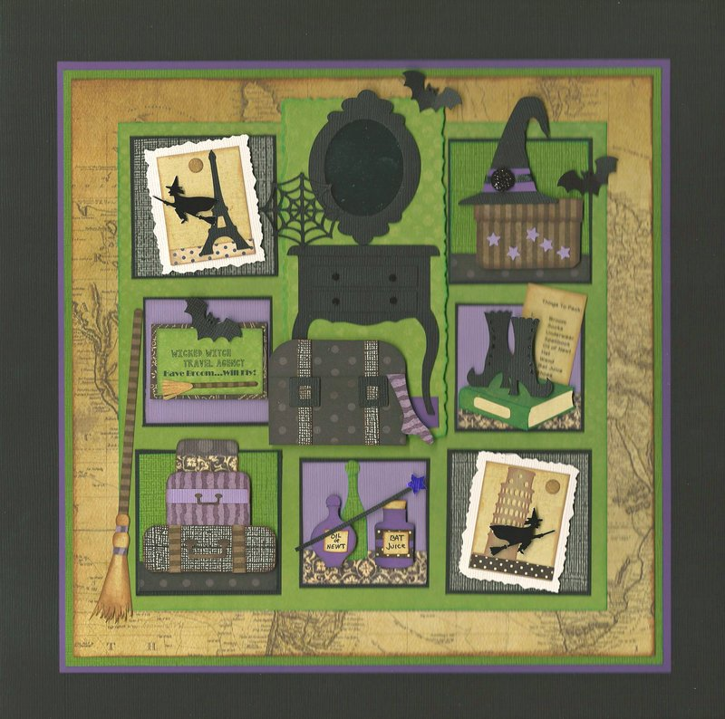 """Halloween 2016 Sampler """"The Witch's Travels"""""""