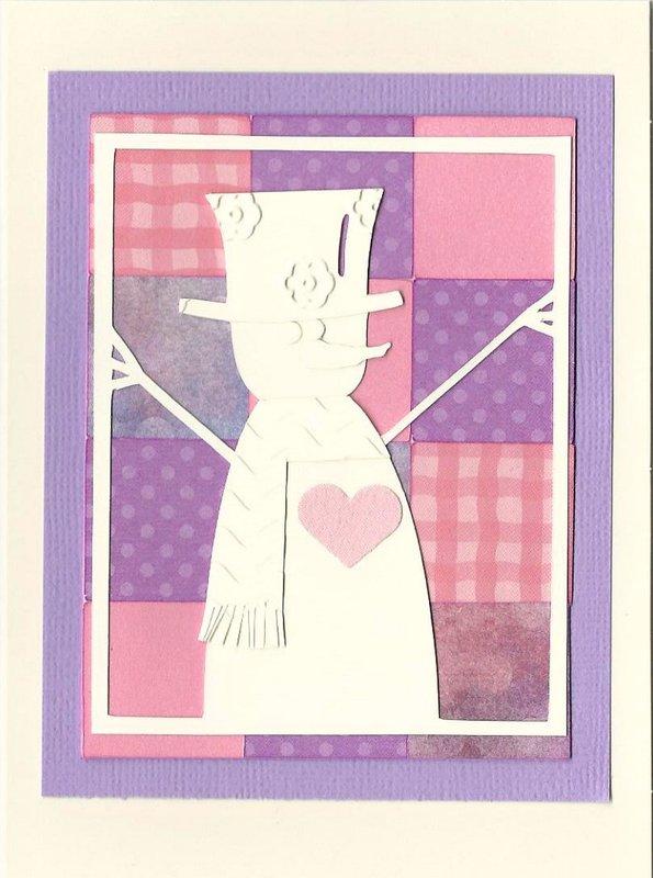 Inchie Valentine Snowman