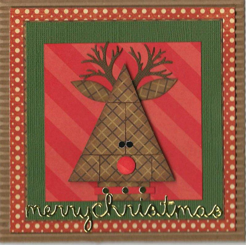 Christmas Inchie Reindeer