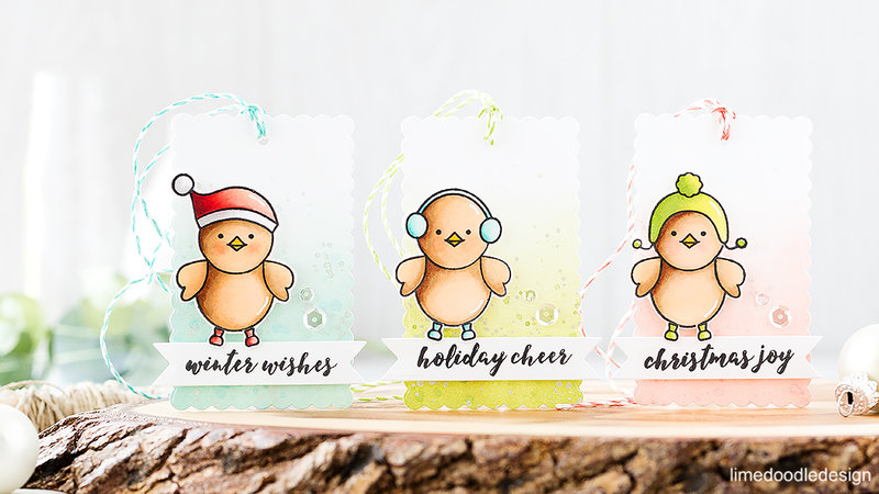 Cute Winter Tags