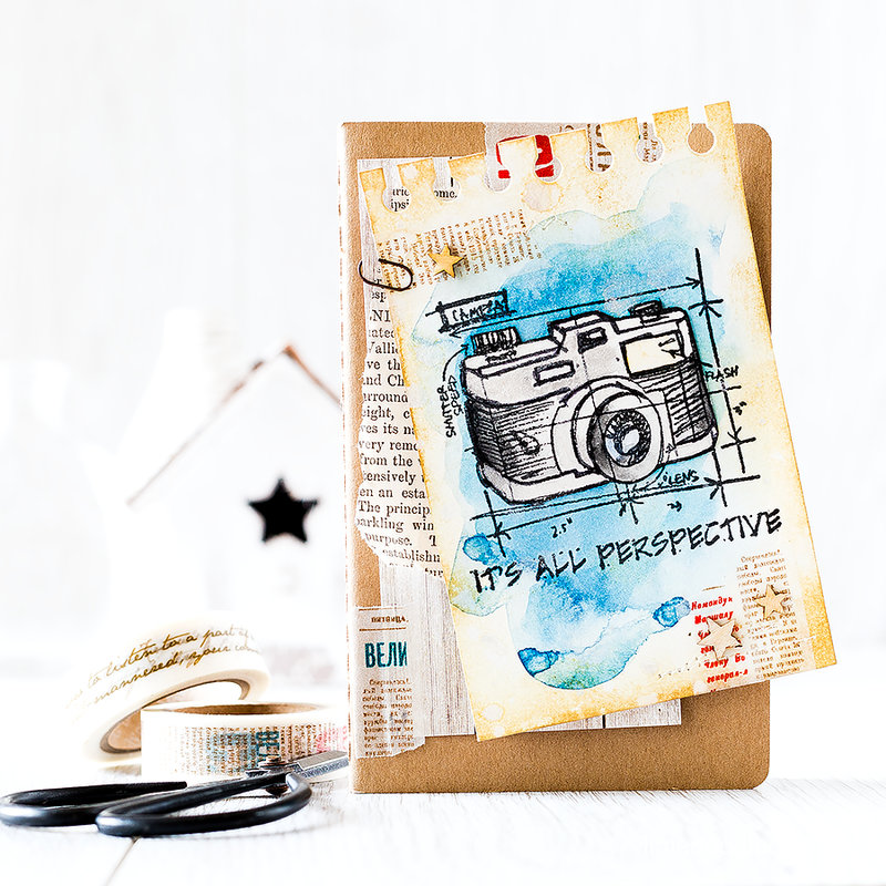 Distressed Notepage