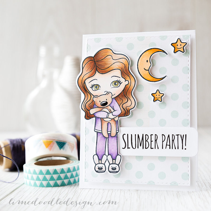 slumber party and copic experimenting