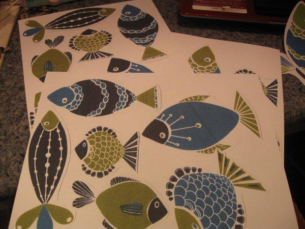 From Fish Napkin to Fish Embellishments!