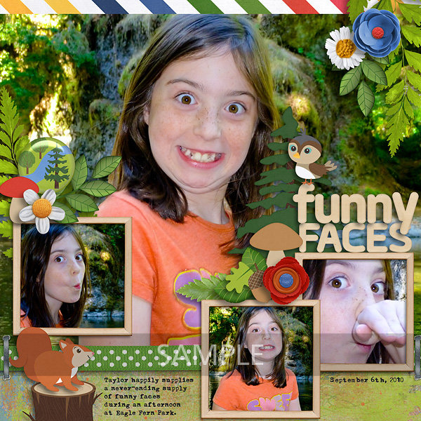 Funny Faces - Eagle Fern Park
