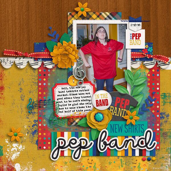 Pep Band Tshirt