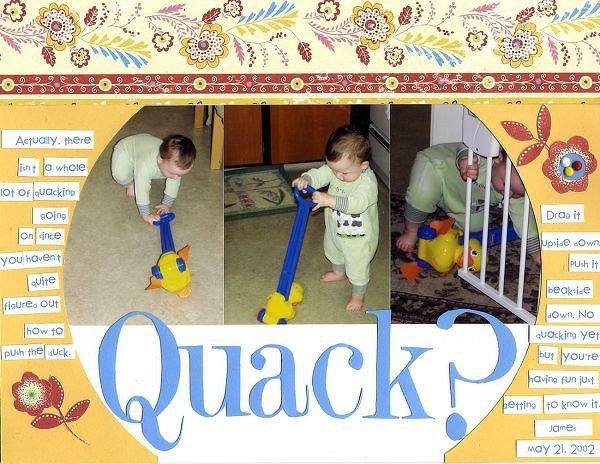 quack?