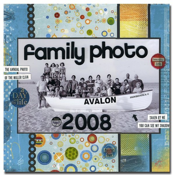 Themed Projects : Family Photos 2008