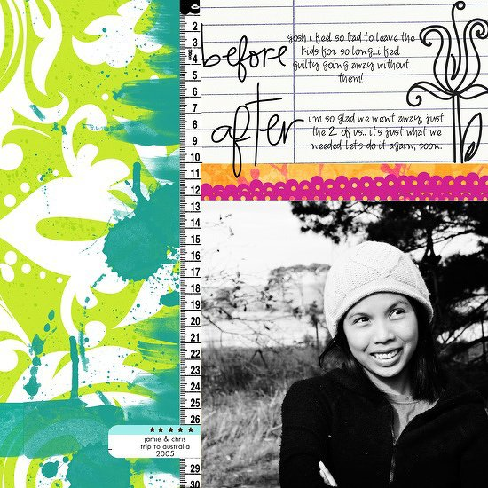 Themed Projects : before and after travel
