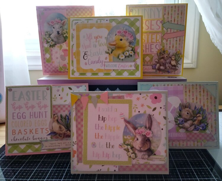3D Easter Cards