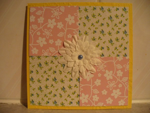 World Cardmaking Day QUICK card