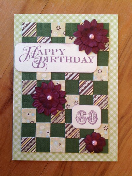 Patchwork 60th Birthday
