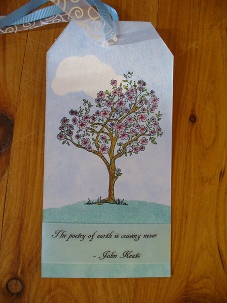 April Tag Tree and Quote