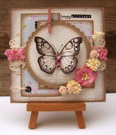 Birthday Flutterby card