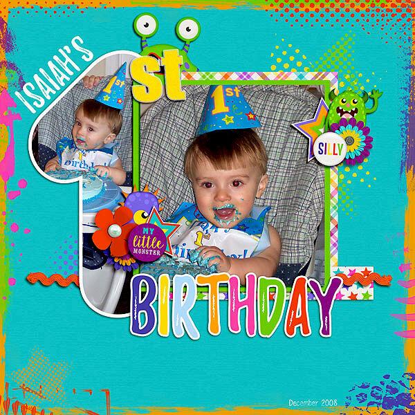 Isaiah's 1st Birthday