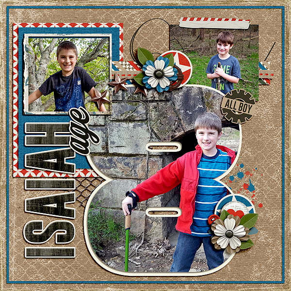 Isaiah Age 8