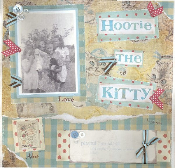 "Hootie the Kitty **NEW Daisy D's and ""Wild Asparagus Line"""