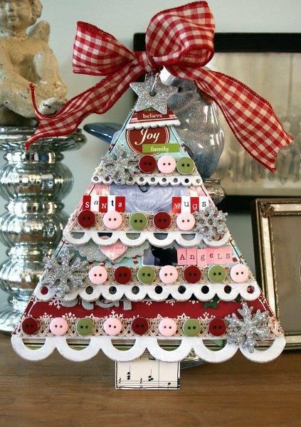 ~NEW Layer Christmas Tree Album~ Maya Road CHA