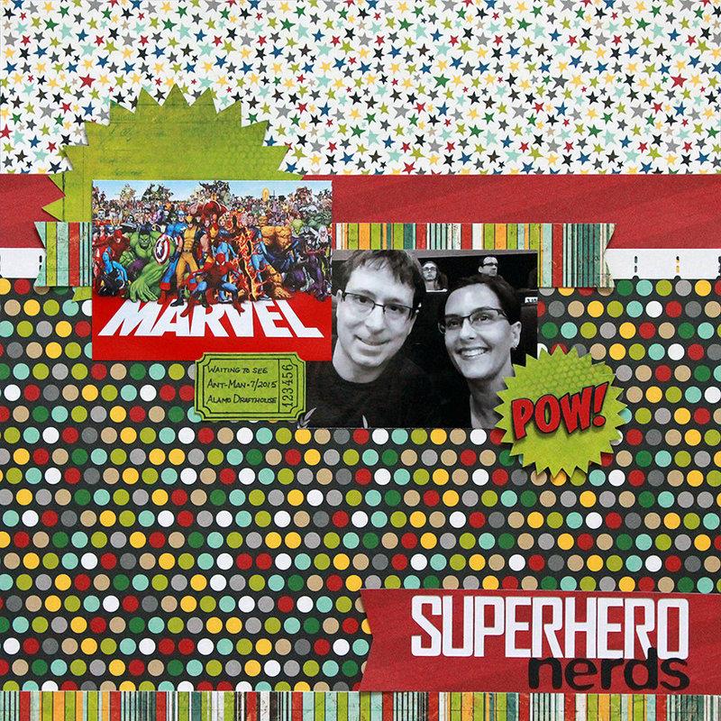 Superhero nerds