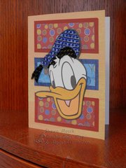 Donald Duck Card - perfect for Disney fans!