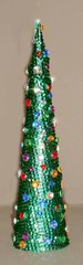 Dazzling Rhinestone Christmas Tree Decoration