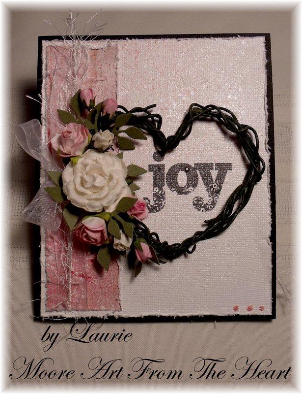 Heart Wreathe Card