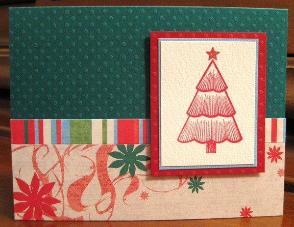 Holiday Cardmaking Weekend - Newletter card